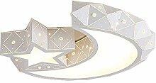 LED Moderne Deckenleuchte Acryl Stern Mondform