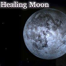 LED Mondlampe Mond Mondlicht Nachtlicht Wandlampe