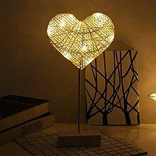 LED Nachtlicht, Exquisite Rattan Lampe Schöne