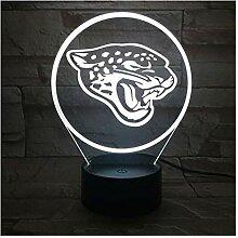 Led Nachtlicht Jacksonville Jaguars Rgb Touch