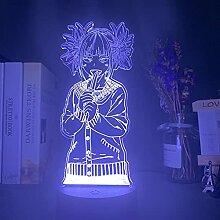 Led Nachtlicht My Hero Academia Toga Himiko Figur