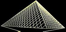 led nachtlicht,Pyramide bunte 3D Lichter LED Acryl
