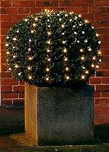 LED Netz Lichterkette - ca. 90cm Durchmesser - 100
