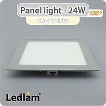 LED Panel 24 Watt quadratisch 30x30cm neutral