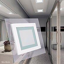 LED Panel 6W ECKIG quadratisch warmweiß Glasrand
