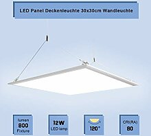 LED Panel Deckenleuchte 30x30cm Wandleuchte