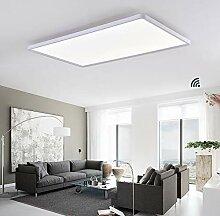 LED Panel Deckenleuchte Dimmbar Fernbedienung,