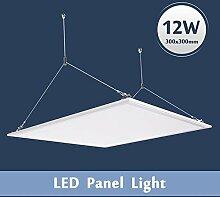 LED Panel Deckenleuchte Wandleuchte 30x30CM 18W