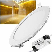 LED Panel, Dimmbar 18W Warmweiß(3000K)