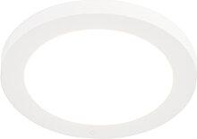 LED Panel Einbau oder Aufbau weiß 12W inkl. LED -