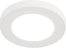 LED Panel Einbau oder Aufbau weiß 6W inkl. LED -