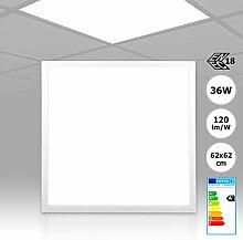 LED Panel Einbau Rasterleuchte 62x62 neutralweiß