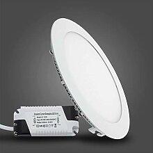 LED Panel Leuchte 15W/200mm Warmweiß Dimmbar