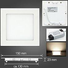 LED Panel Leuchte, Dimmbar 9W 700lm 150x150mm