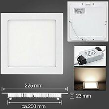 LED Panel Leuchte Dimmbar Einbaustrahler