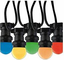 LED Party Lichterkette Mini Globe 10er mit 5 Farben