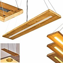 LED Pendelleuchte Adak, dimmbare Hängeleuchte aus