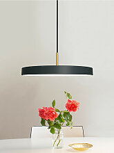 LED-Pendelleuchte Asteria Umage grau, Designer