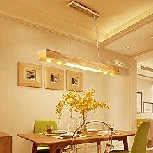 LED Pendelleuchte Aus Holz Hängelleuchte Esstisch