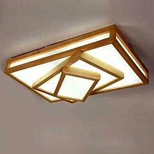 LED Pendelleuchte Deckenleuchte Holz Esstischlampe