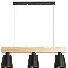 LED Pendelleuchte Esstisch Hängeleuchte Holz