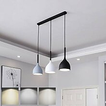 LED Pendelleuchte Holz Dimmbar Moderne