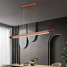 LED Pendelleuchte Holz Esstisch Lampe Dimmbar Mit