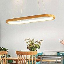 LED Pendelleuchte Holz Esszimmer Hängelampe,