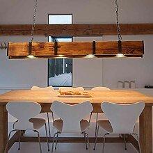 LED Pendelleuchte Holz Rustikal Hängeleuchte