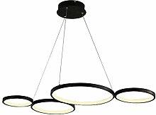 LED Pendelleuchte Modern 4 Ring Design