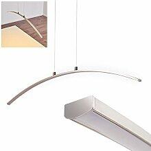 LED Pendelleuchte Vidsel aus Metall satin -