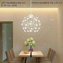 LED Pendelleuchte XW813THJ-Gold inkl Fernbedienung