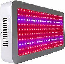 LED Pflanzenlampe eSavebulbs 1300W für Gewächshaus Pflanze Wachstumlampe Zimmerpflanzen Led Grow Light mit IR UV Licht für Growbox