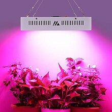 LED Pflanzenlampe Grow Lampe 1000W Vollspektrum Gewächshaus Pflanzenlicht Zimmerpflanzen für Blume Gemüsse Weiß Schale 31x21x7.2cm