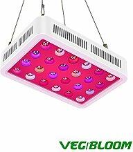 LED Pflanzenlampe, TOPLANET Reflektor 450W Led Grow Lampe UV IR Vollspektrum mit Veg & Bloom Dual Kanal für Pflanzen Wachstum Zimmerpflanzen Gemüse und Blumen im Garten Gewächshaus, Grow Box, Grow Ten