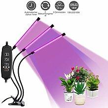 LED Pflanzenlampe Vollspektrum mit 3 Timer
