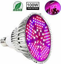 LED-Pflanzenlampe Wachstum 100W E27 Lampe Für Das