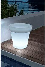 LED-Pflanzgefäß für den Außenbereich Eroh Ø35