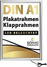 LED Plakatrahmen DIN A1 | LED beleuchtet,