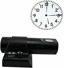 LED-Projektion Uhr Salon Uhr digitale Wanduhr