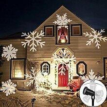 LED Projektionslampe, LED Projektor Schneeflocke