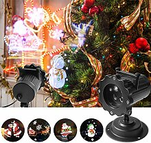 LED Projektionslampe Weihnachten Projektor
