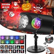 LED Projektor Lampe Weihnachten Halloween