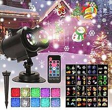 LED Projektor Lampe Weihnachten Projektor 16