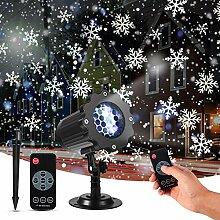 LED Projektor Weihnachten, mimoday LED