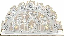 LED Pyramide Weihnachtsdeko Fensterdeko