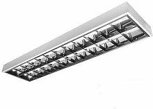 LED Rasterleuchte Empty 2x150cm T8 Bürolampe
