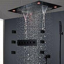 LED Regendusche Set, Decke
