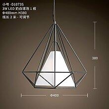 Led Retro-diamond kronleuchter,100% metal Draht