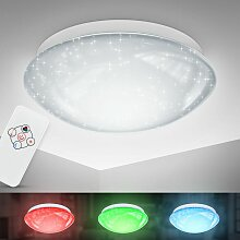LED RGB Deckenleuchte Sternen-Licht Glitzer-Lampe